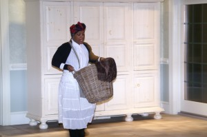 Actress Jayné LaMondue Price performs as Teany Watson