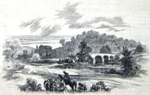Drawing of the ironworks.
