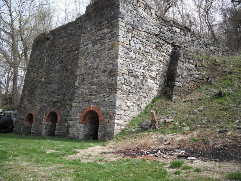 Recent Photo of the iron works.